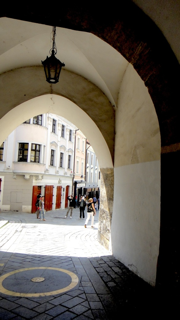 5 BRATISLAVA - ST.MICHAEL'S GATE - BRASS PLATES