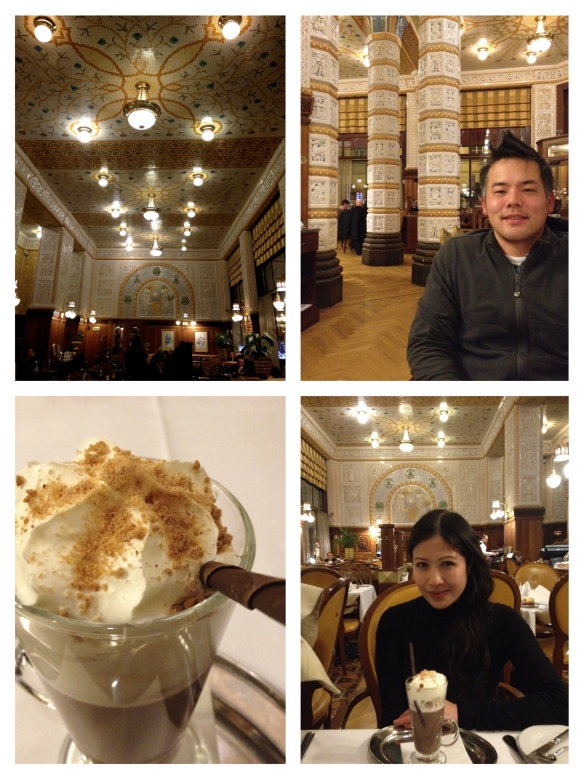 prague - czech republic - cafe imperial