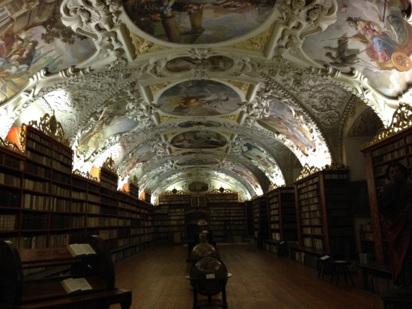 prague - czech republic - strahov library