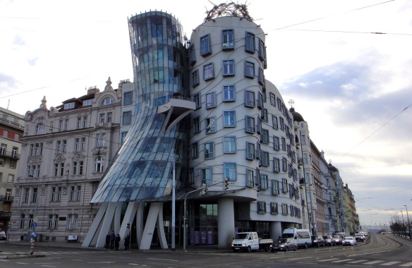 prague - czech republic - frank gehry - dancing house