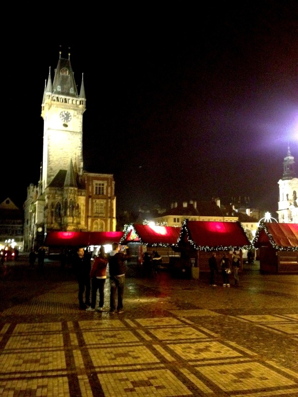 prague - czech republic - night scenes